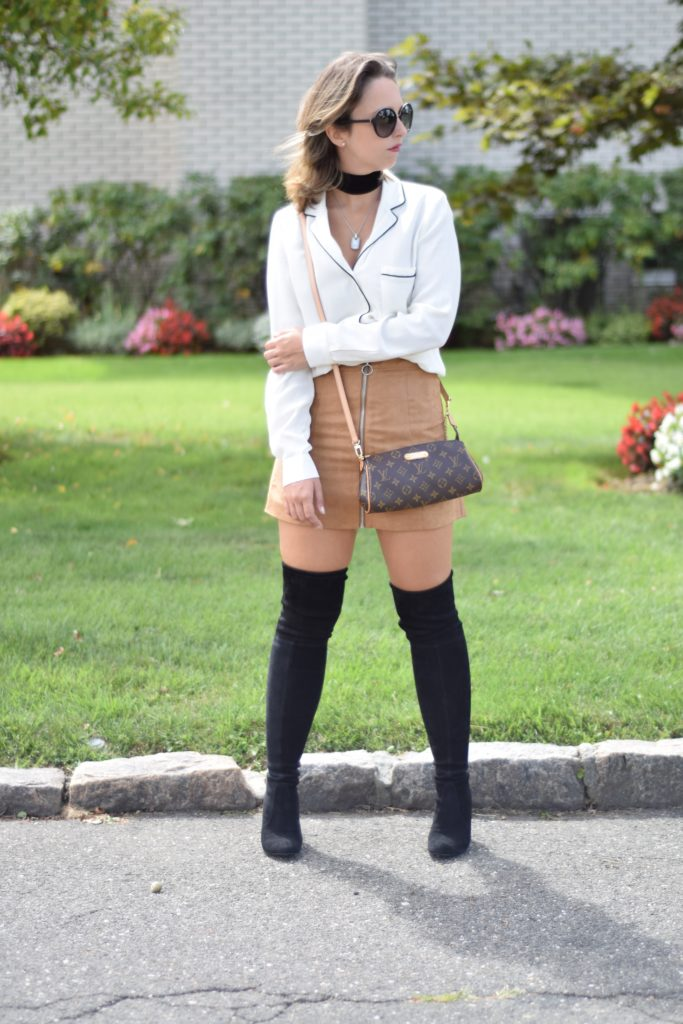 camel-skirt-stuart-weitzman-louis-vuitton