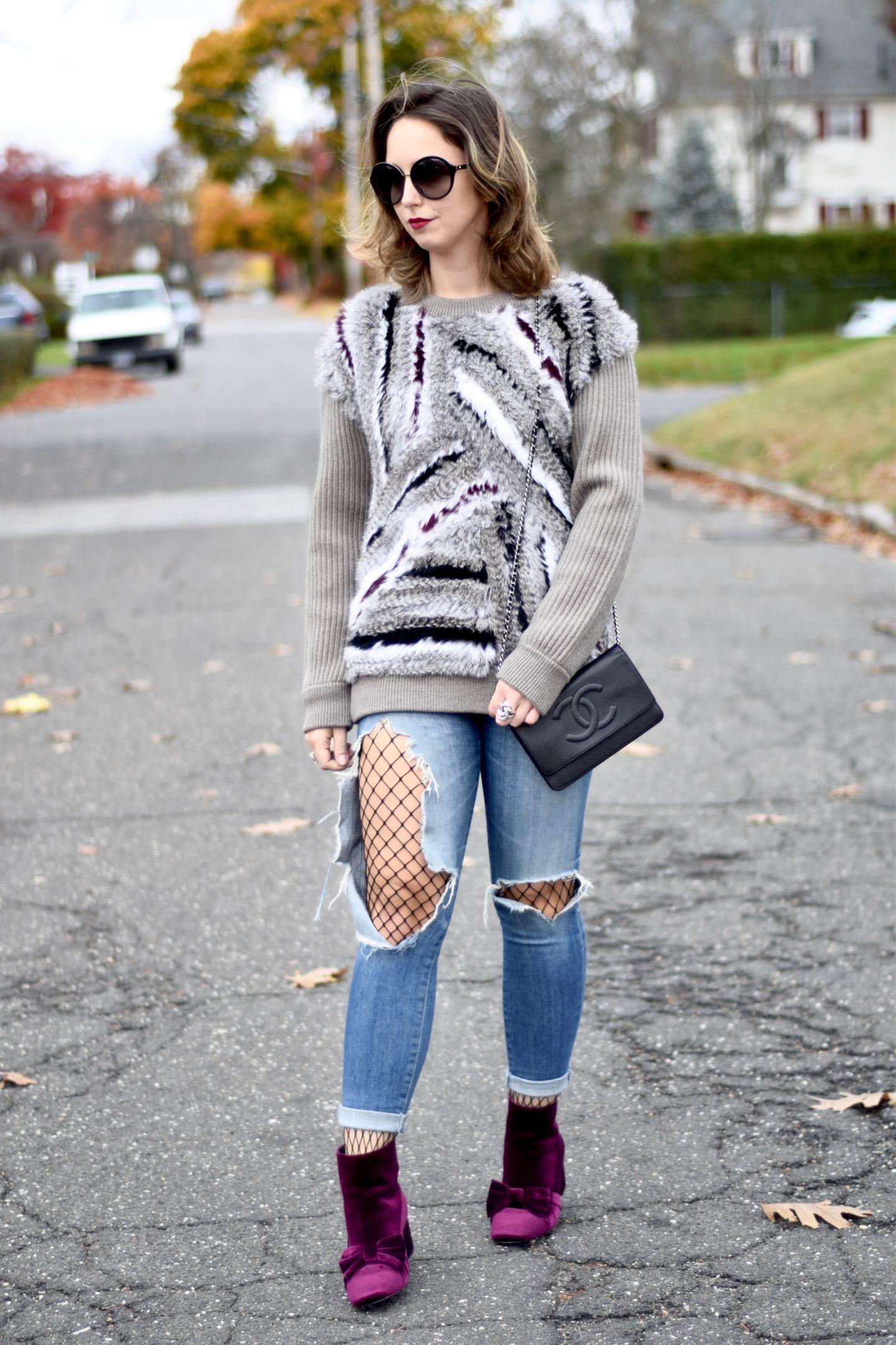 dvf-jamesyn-sweater-fur-asos