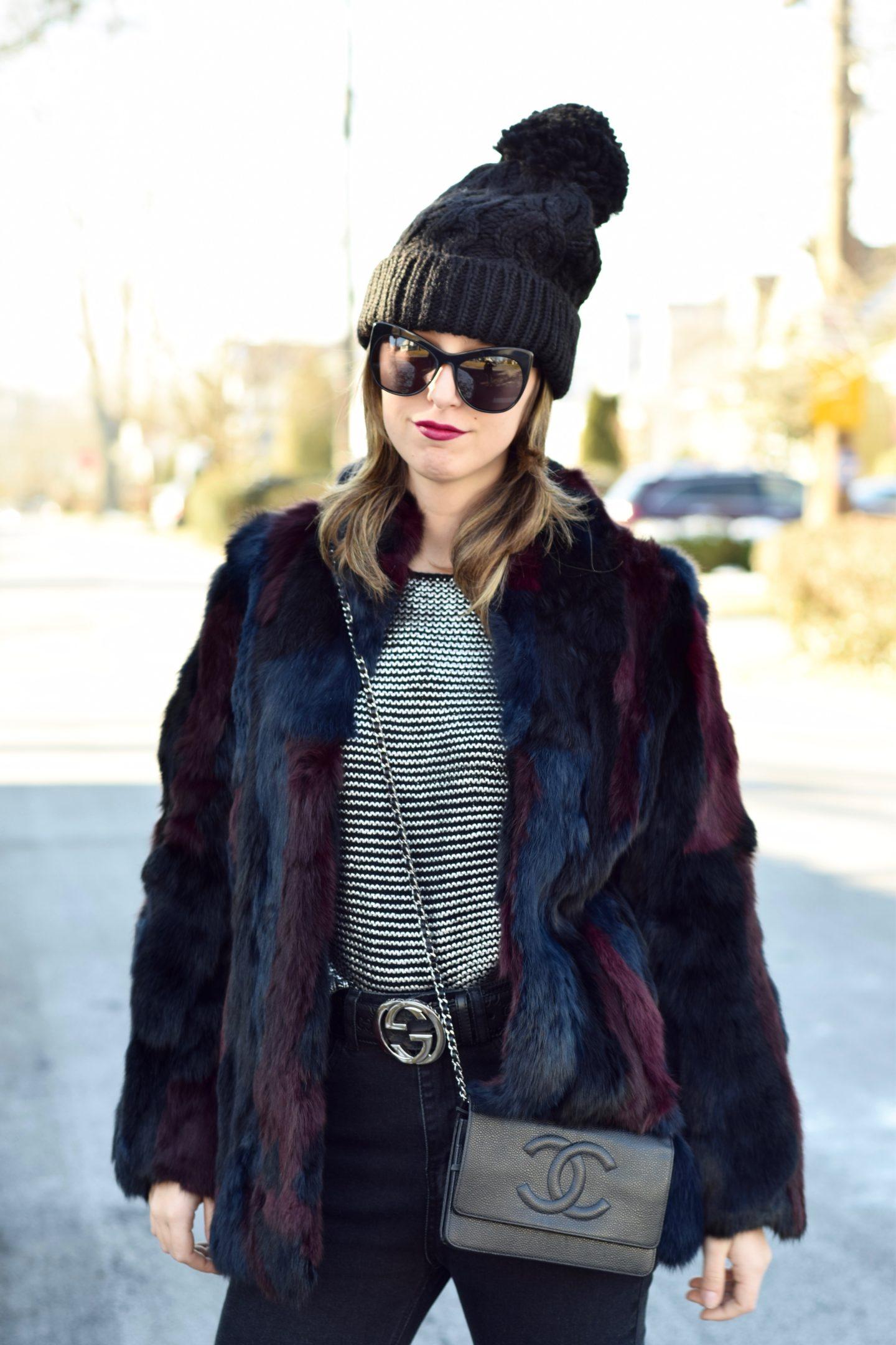 metallic sweater-lucy paris-street style-blogger