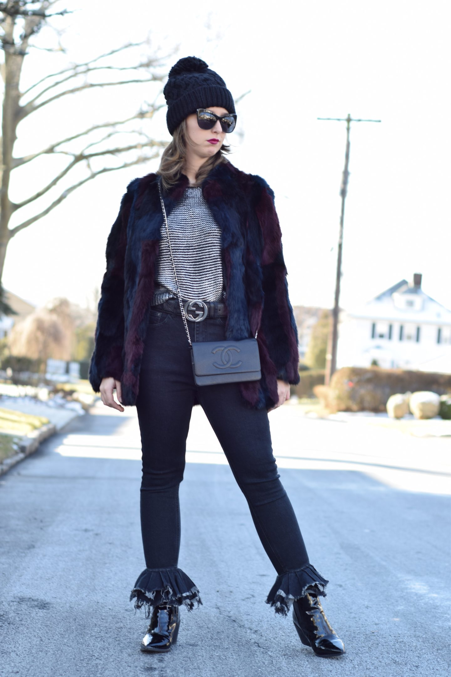 street style-new york-blogger-fur