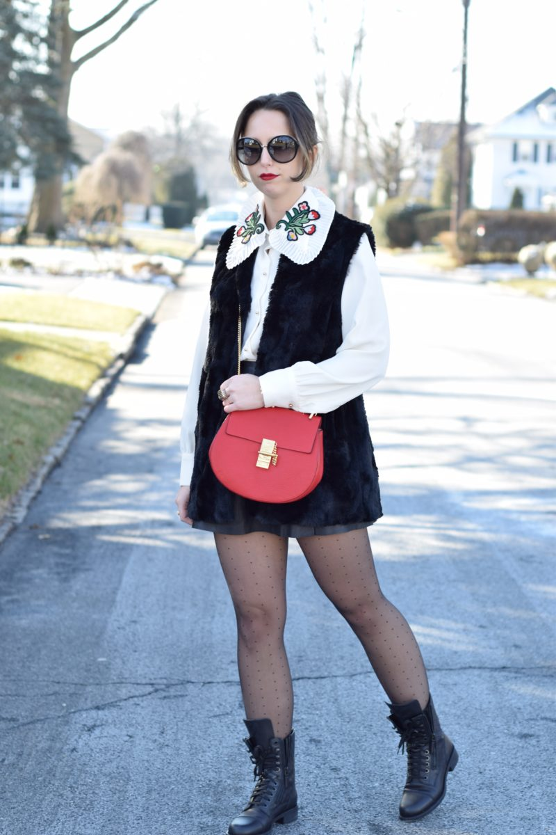 leather skirt-all saints-tights-style