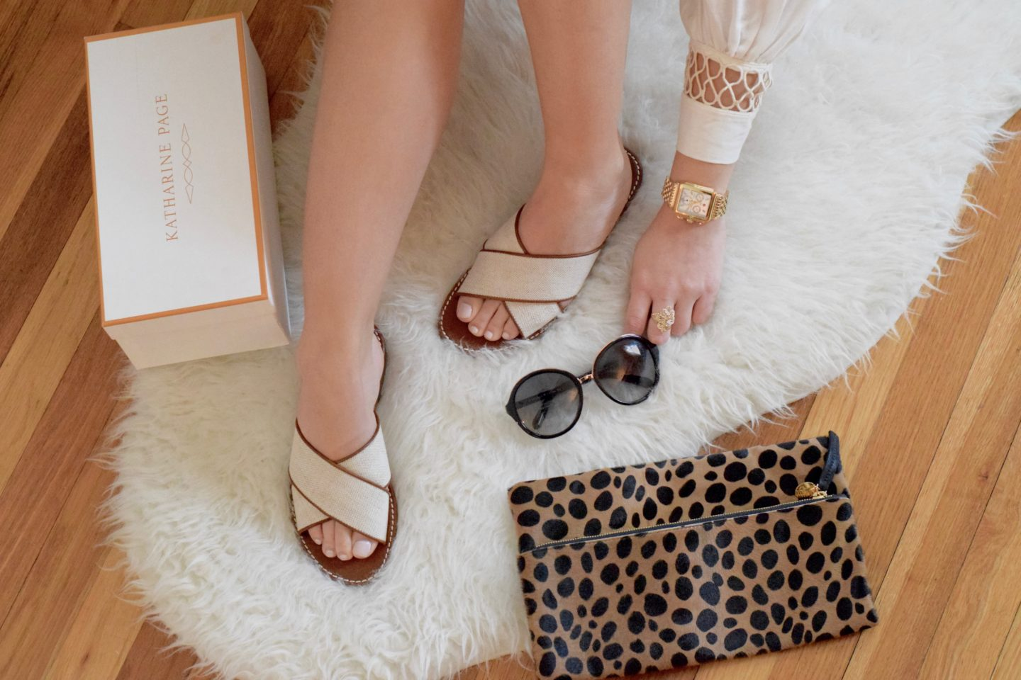 katharine page shoes-sandals-flatlay