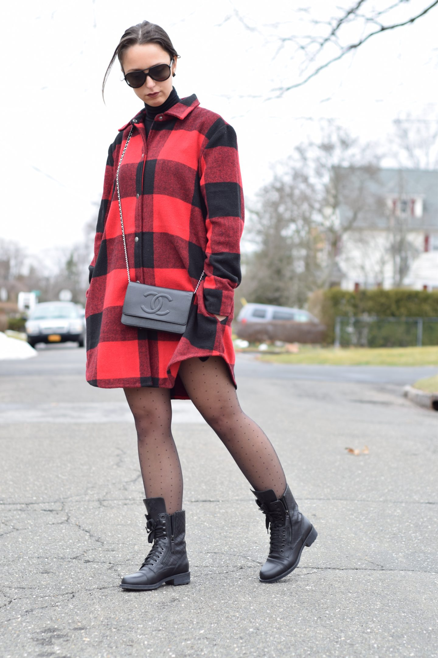 westchester blogger-style-red plaid