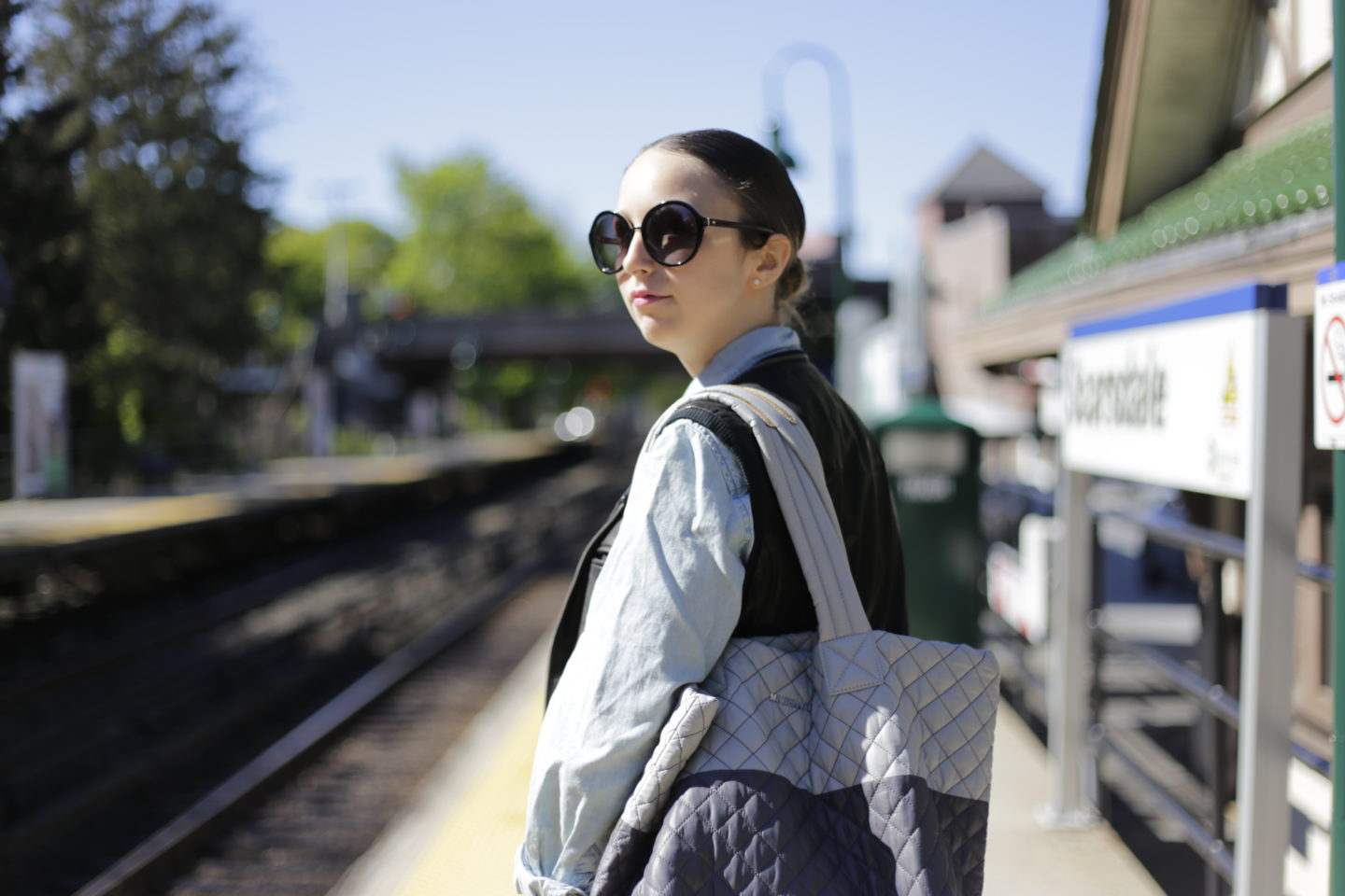 westchester blogger-scarsdale-train station