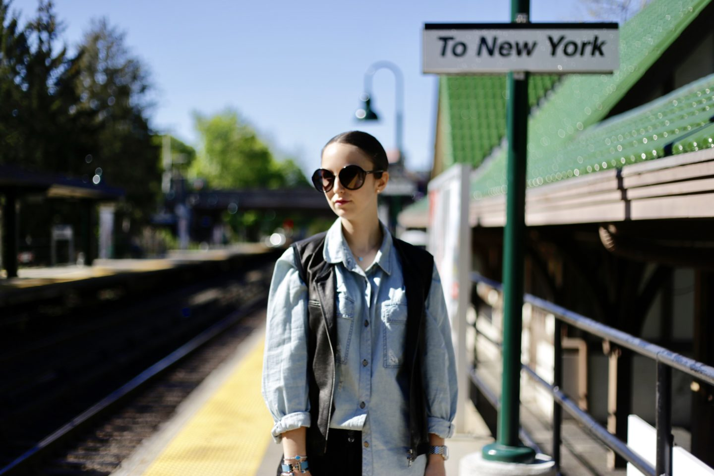 train station-commuter-new york-style