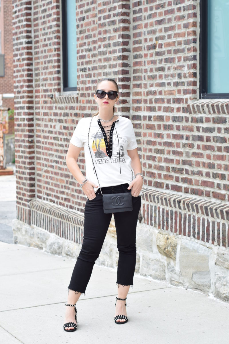 outfit-street style-graphic tee