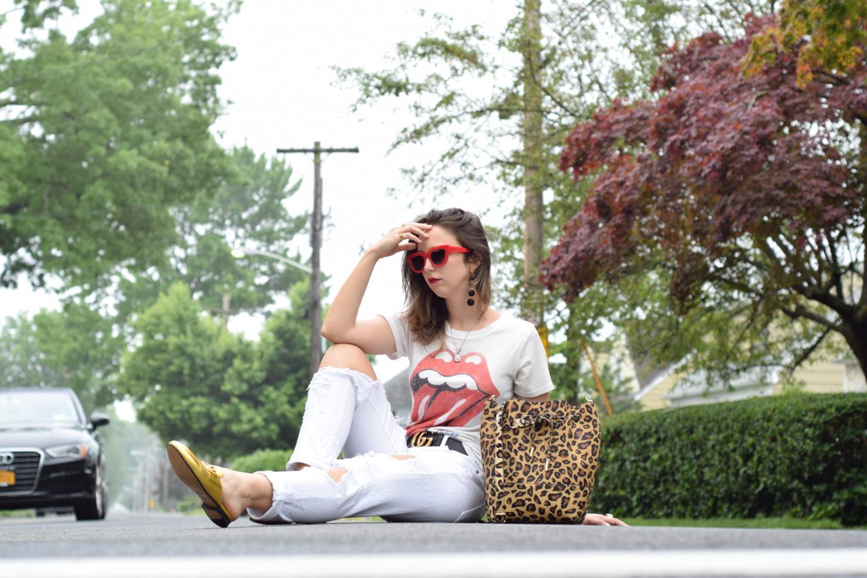 gold gucci loafers-mon purse