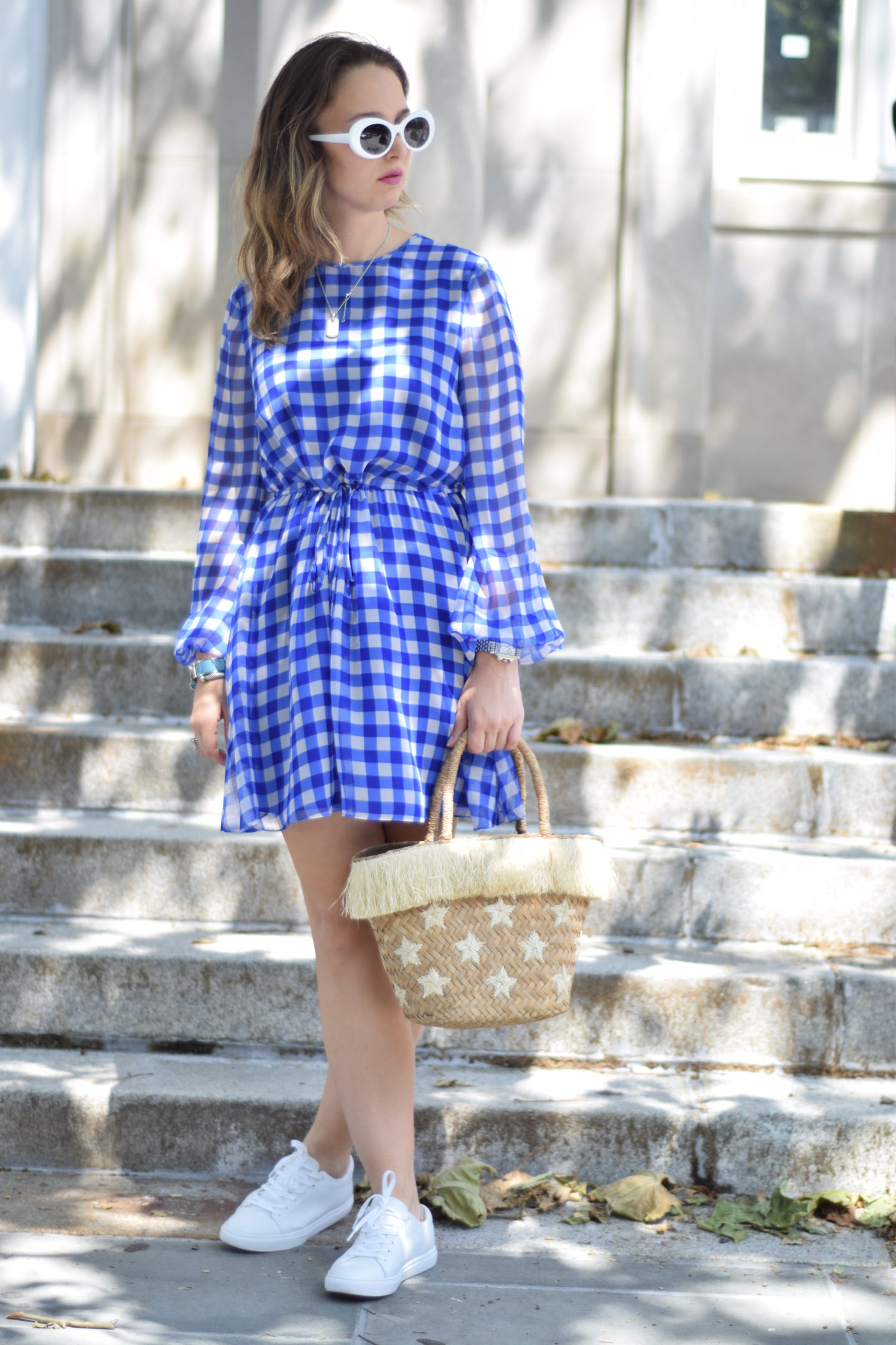 dvf-gingham-dress-outfit