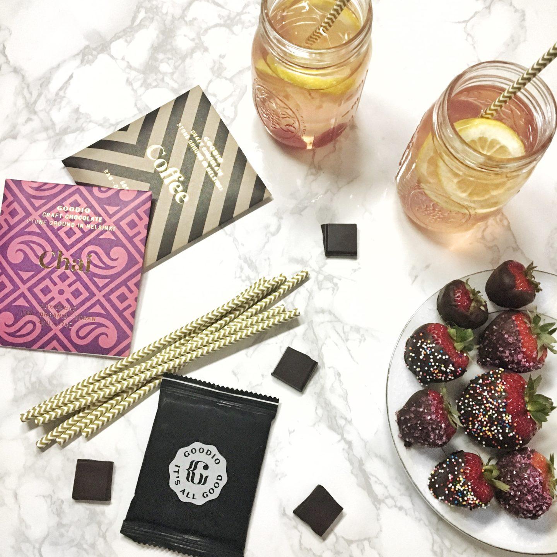Goodio Chocolate-strawberries