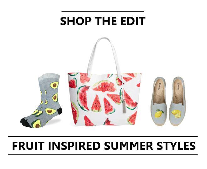 Trending: Fruit Inspired Summer Styles