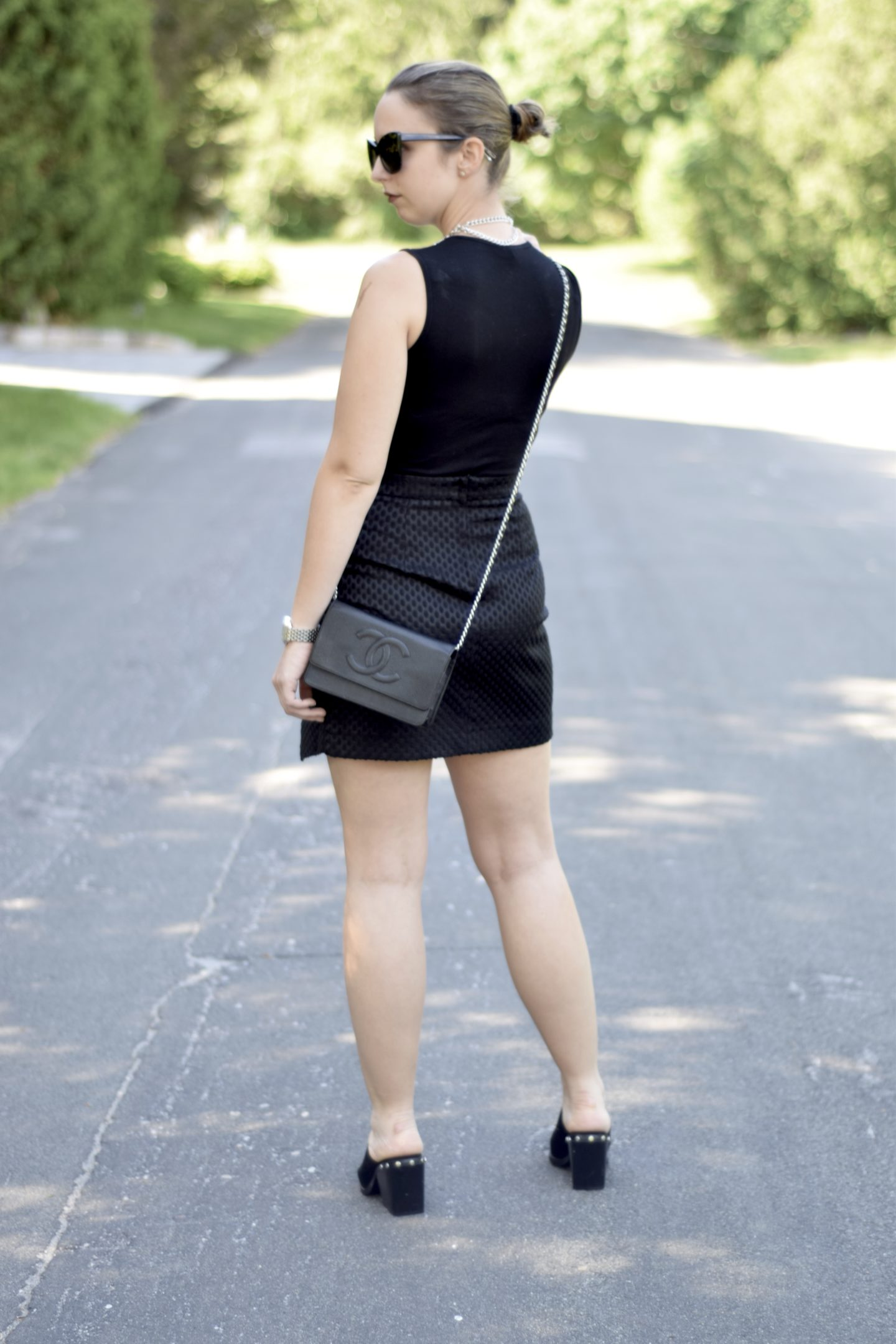 party look-black skirt-outfit-blogger