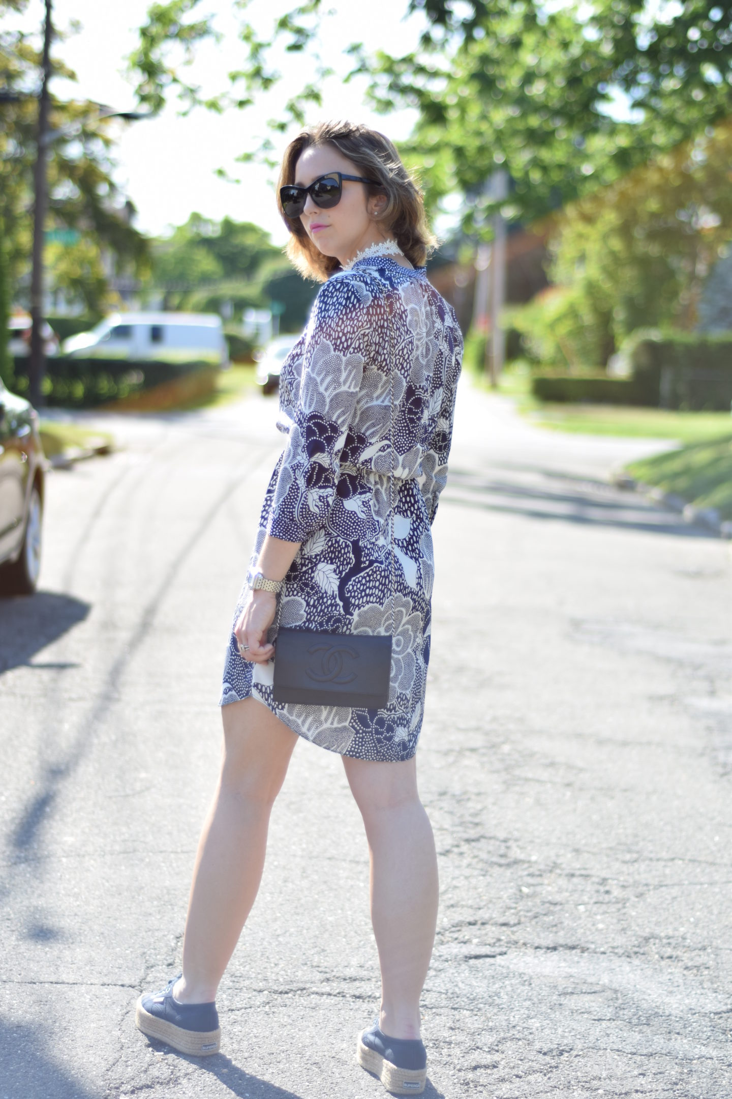 superga sneakers-dvf dress-style-blog
