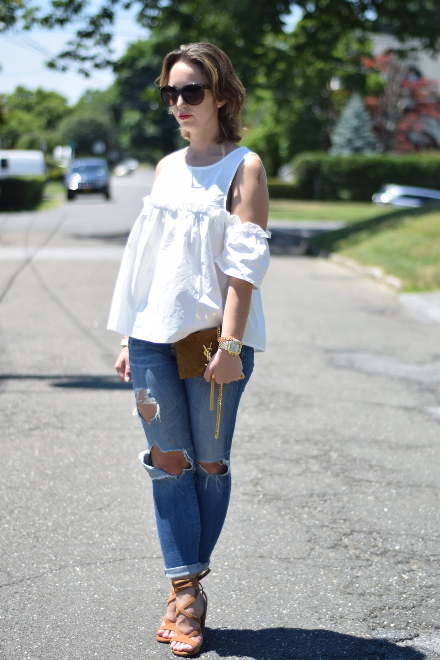 shein-cold shoulder-outfit-style
