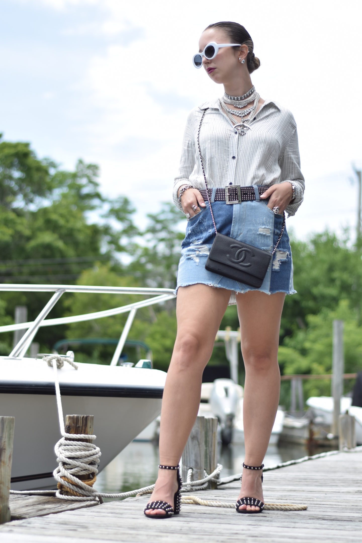 white sunglasses-alexander wang-boat-style