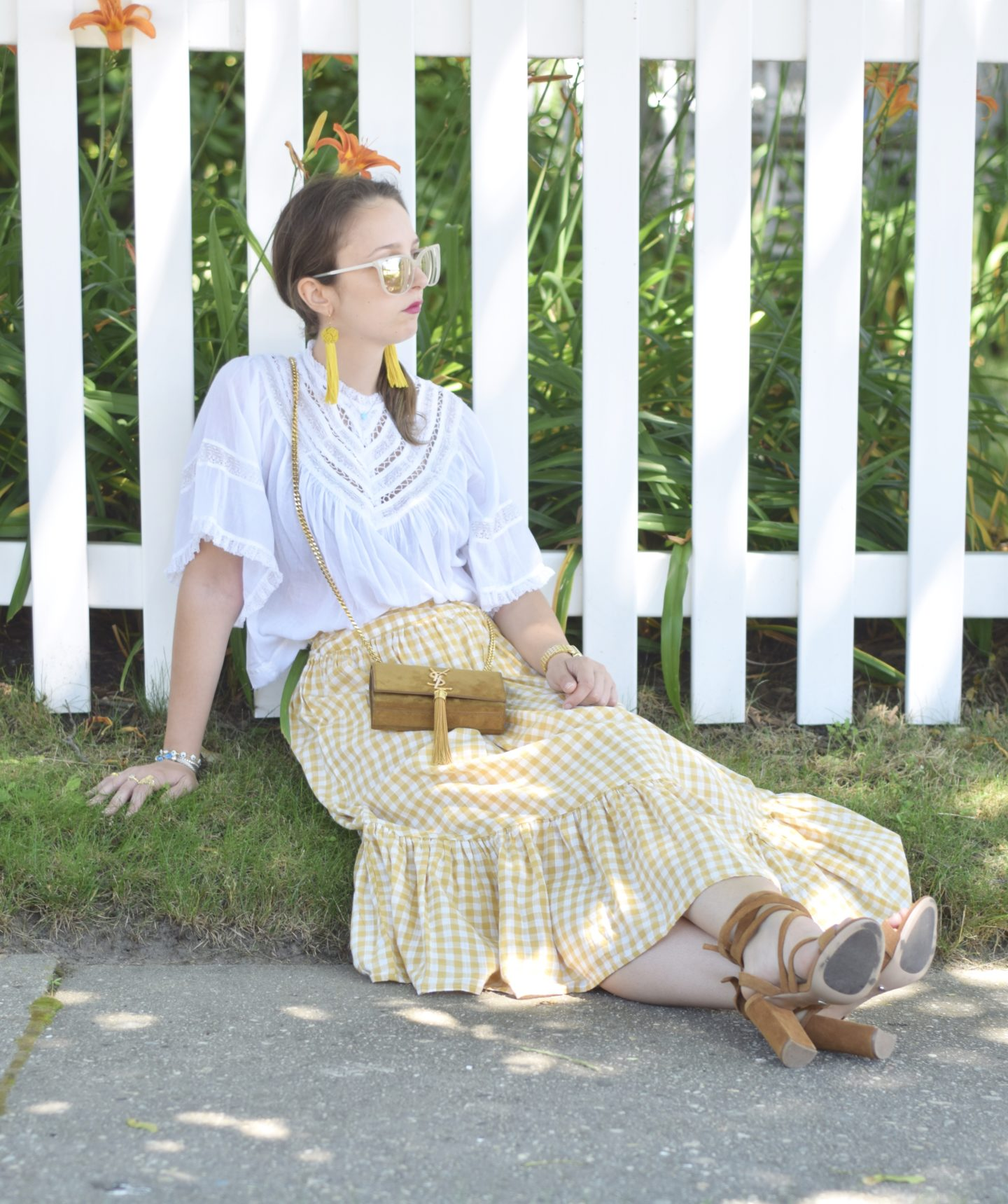 yellow-gingham-skirt-asos-style