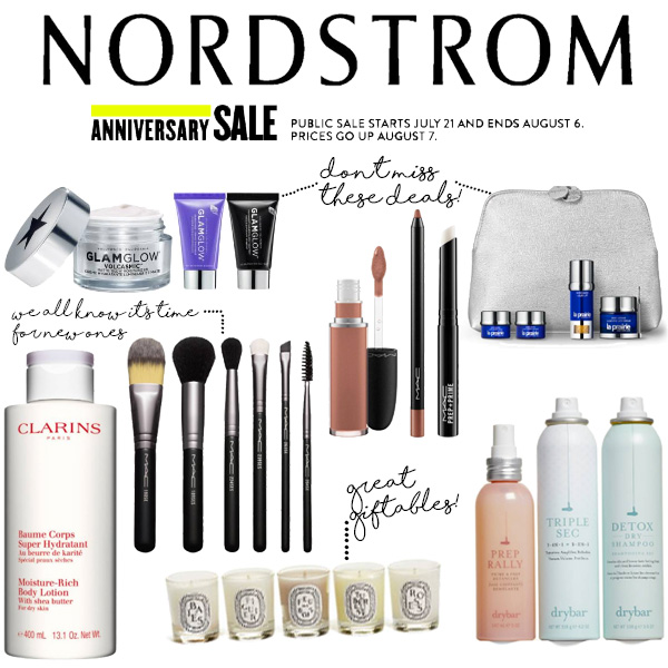 Nordstrom Anniversary Sale Beauty Roundup