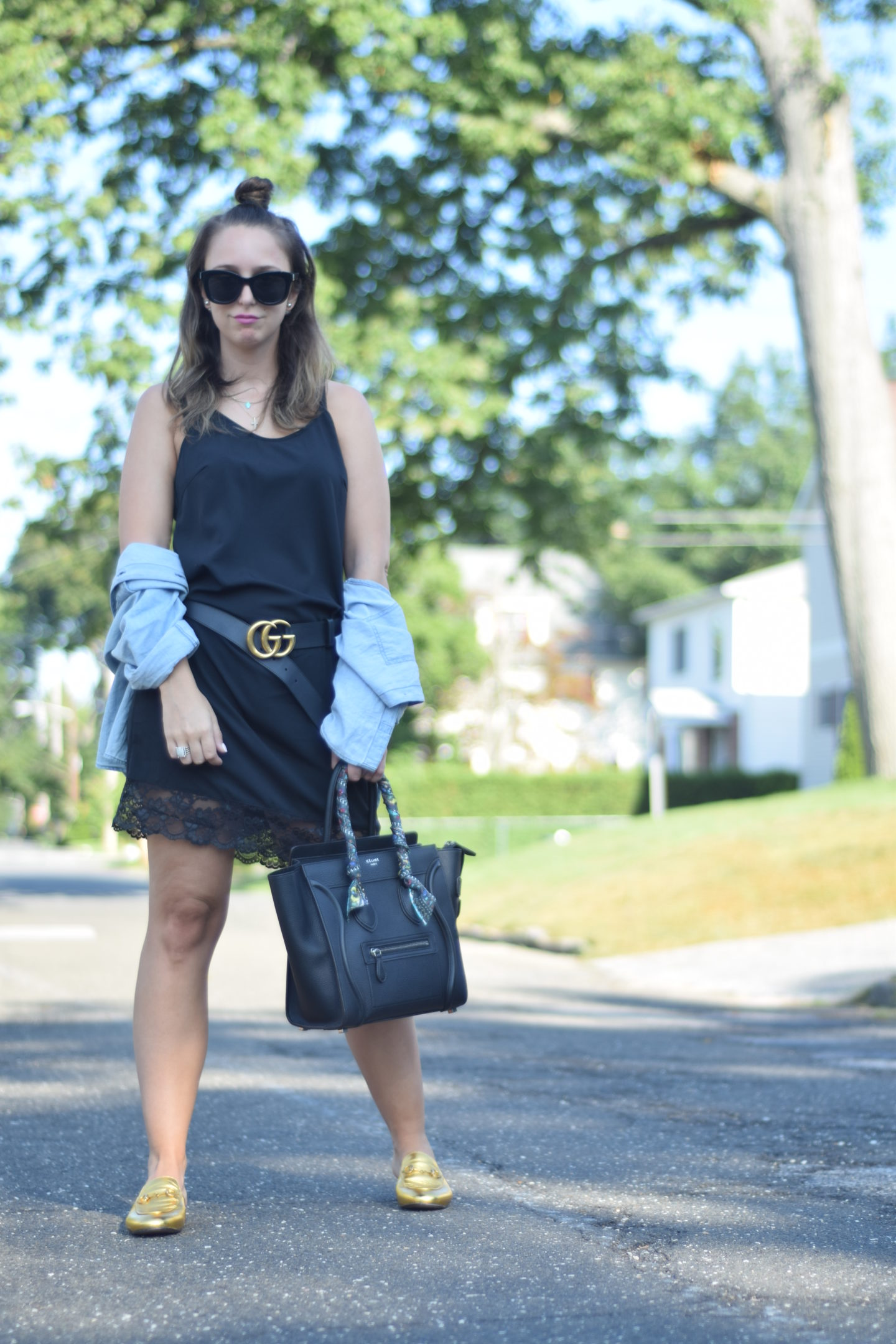 LBD-slip dress-rails-gucci-Celine