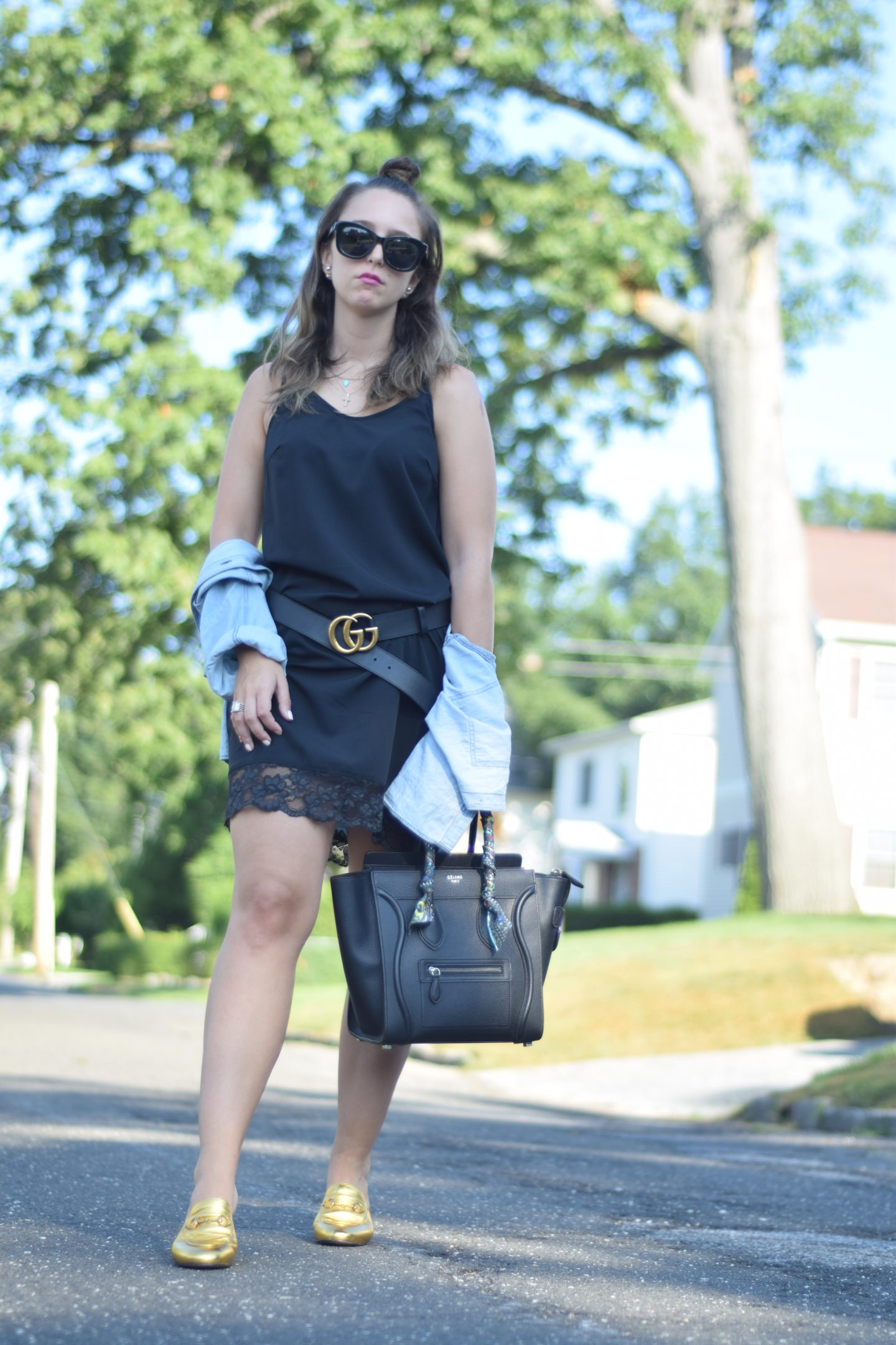 Outfit-Gucci belt-Fall-style