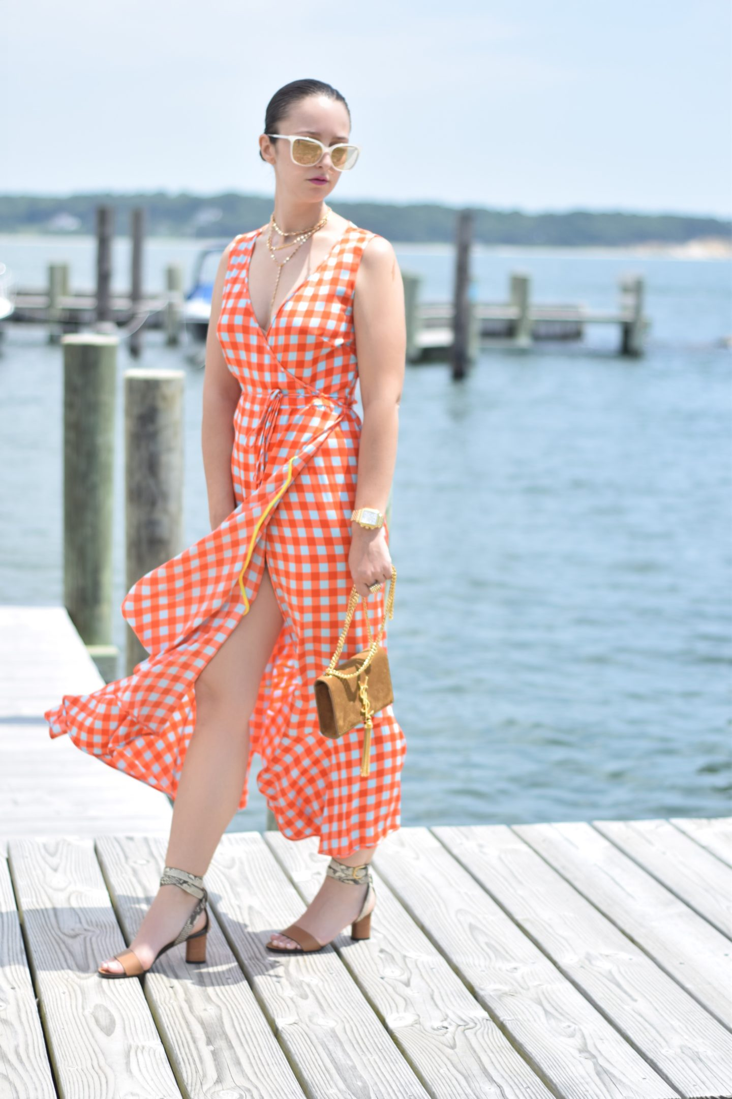 outfit-beach-gingham-blogger