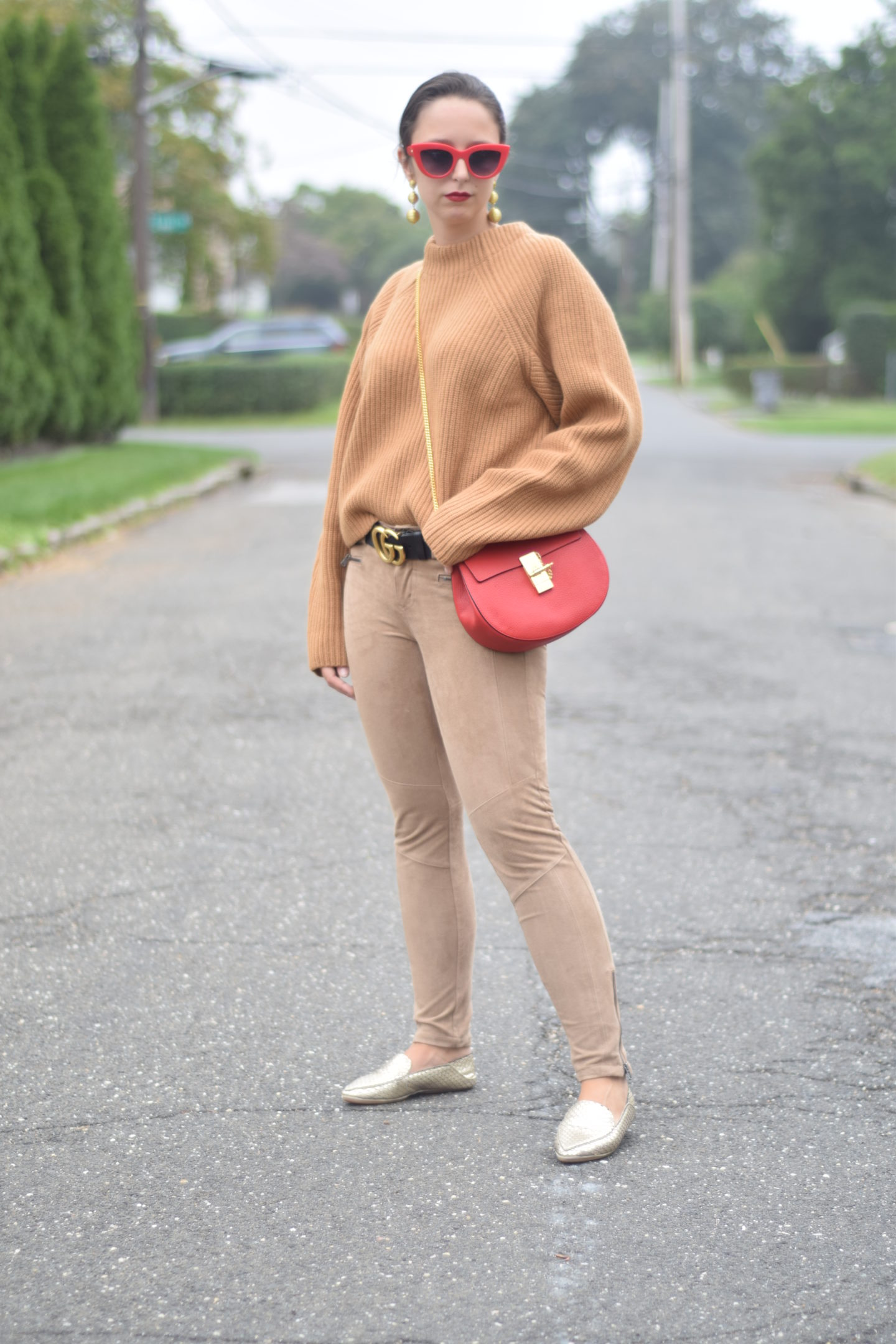 camel sweater-yosi samra-chloe-style-outfit