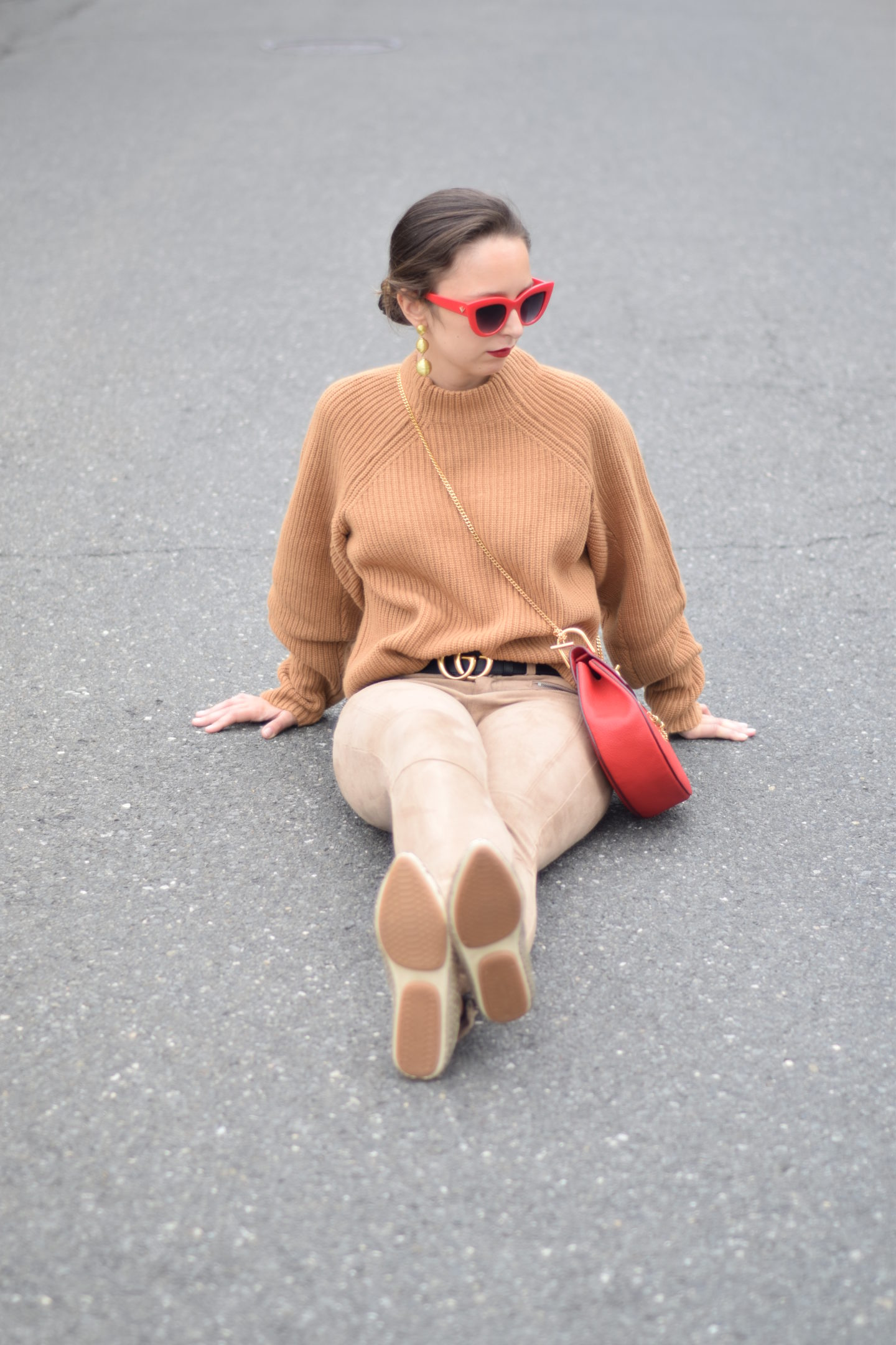 best foot forward-yosi samra-camel outfit-style