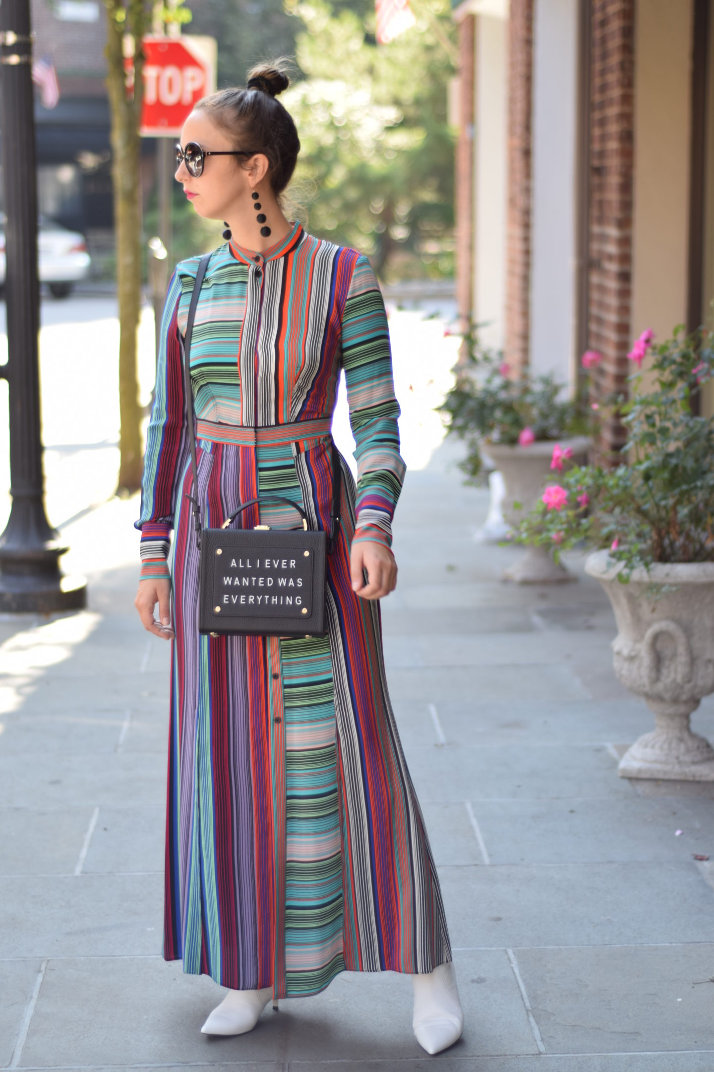 birthday outfit-new york-westchester-style-maxi dress