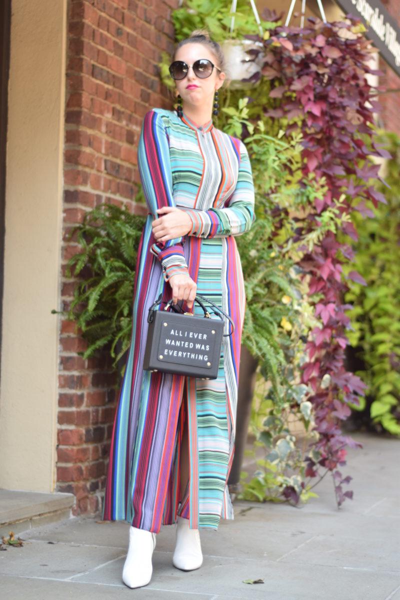 birthday outfit-stripe dree-ny street style