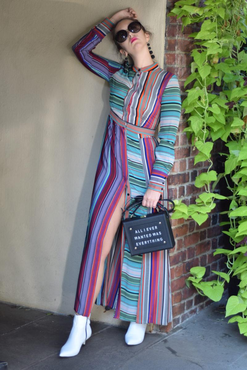 street style-new york-maxi dress-fall style