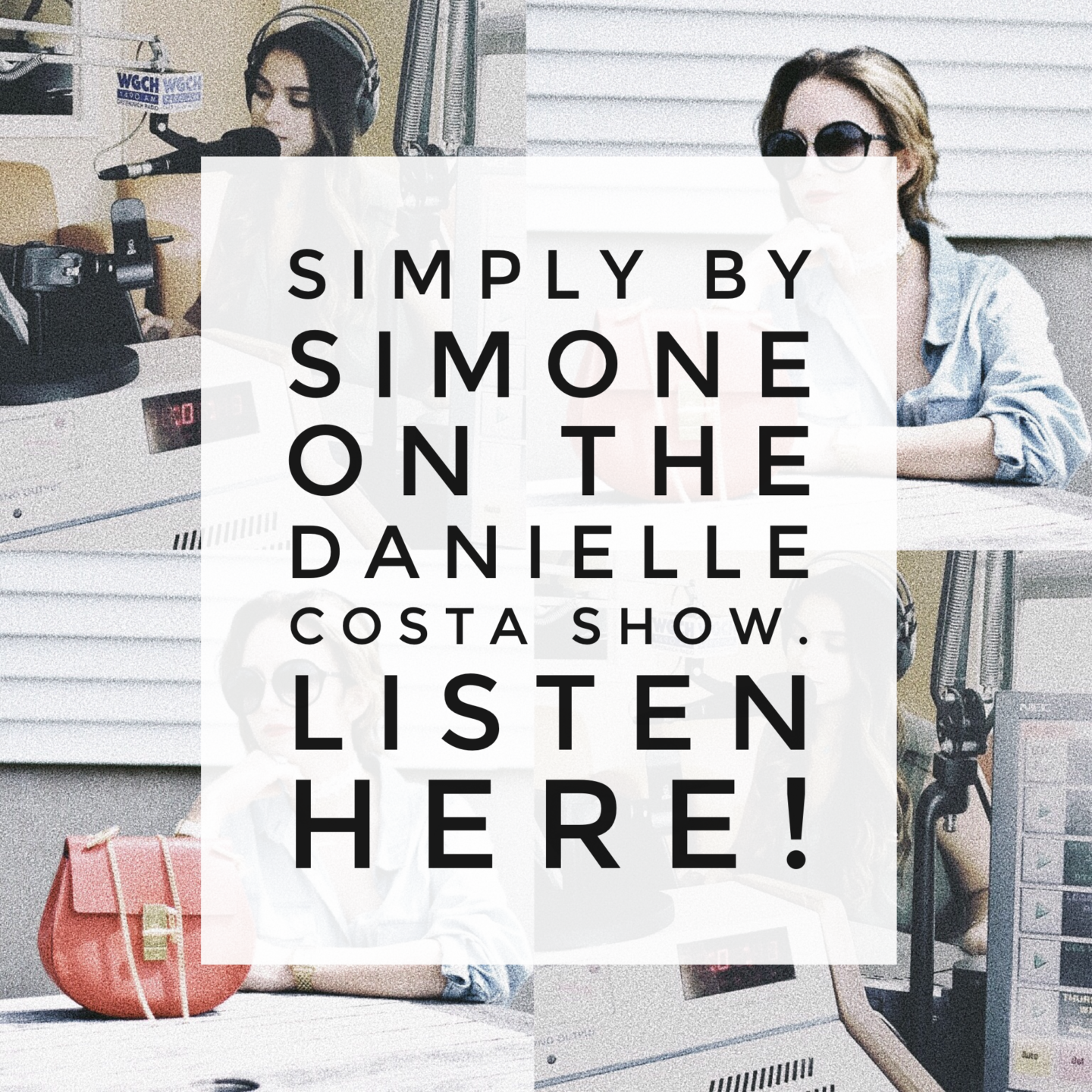 I'm On The Radio! The Danielle Costa Show, Listen Here