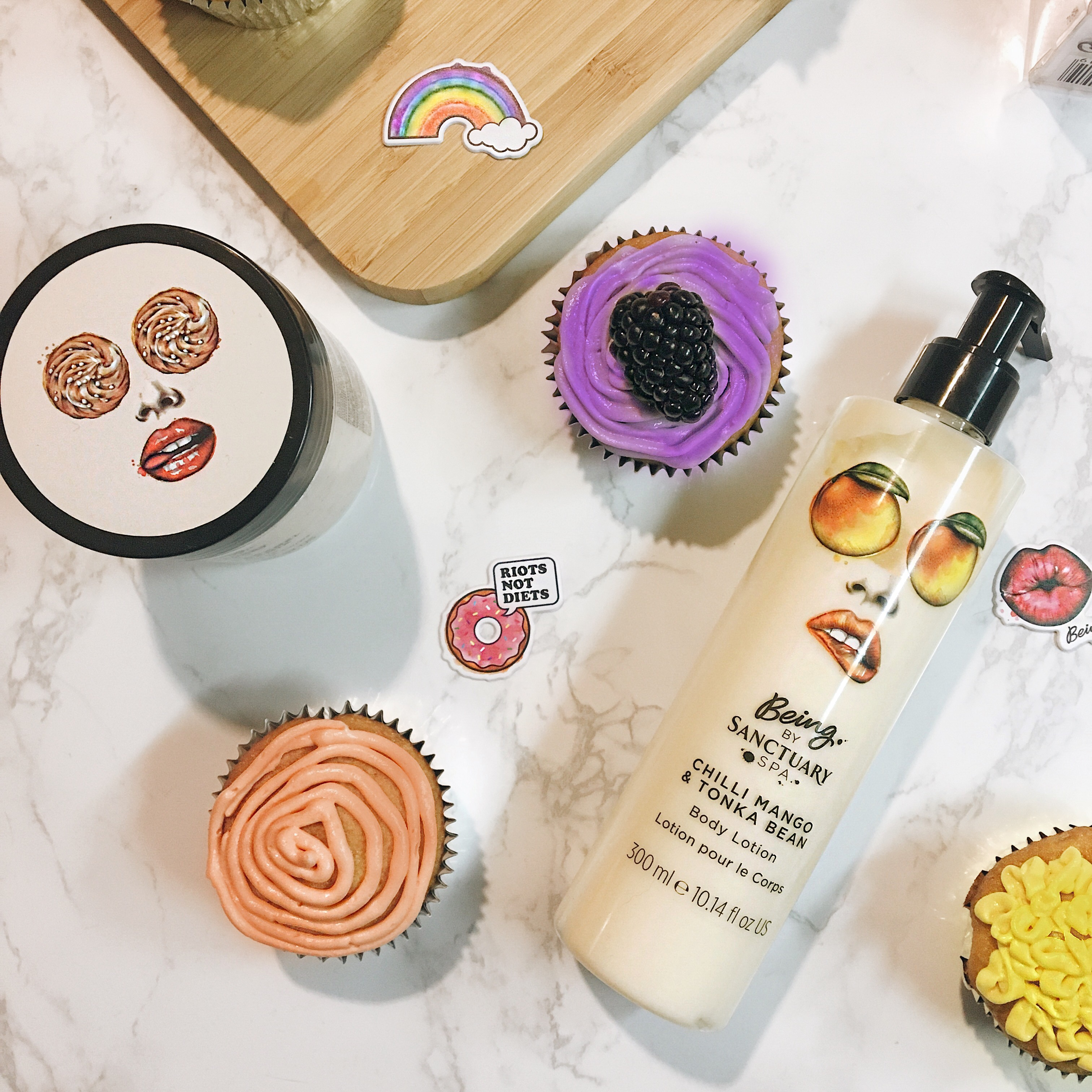 Being by Sanctuary Spa-body lotion-cupcakes-ulta-skincare