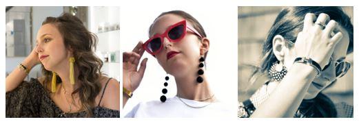 earrings simply by simone