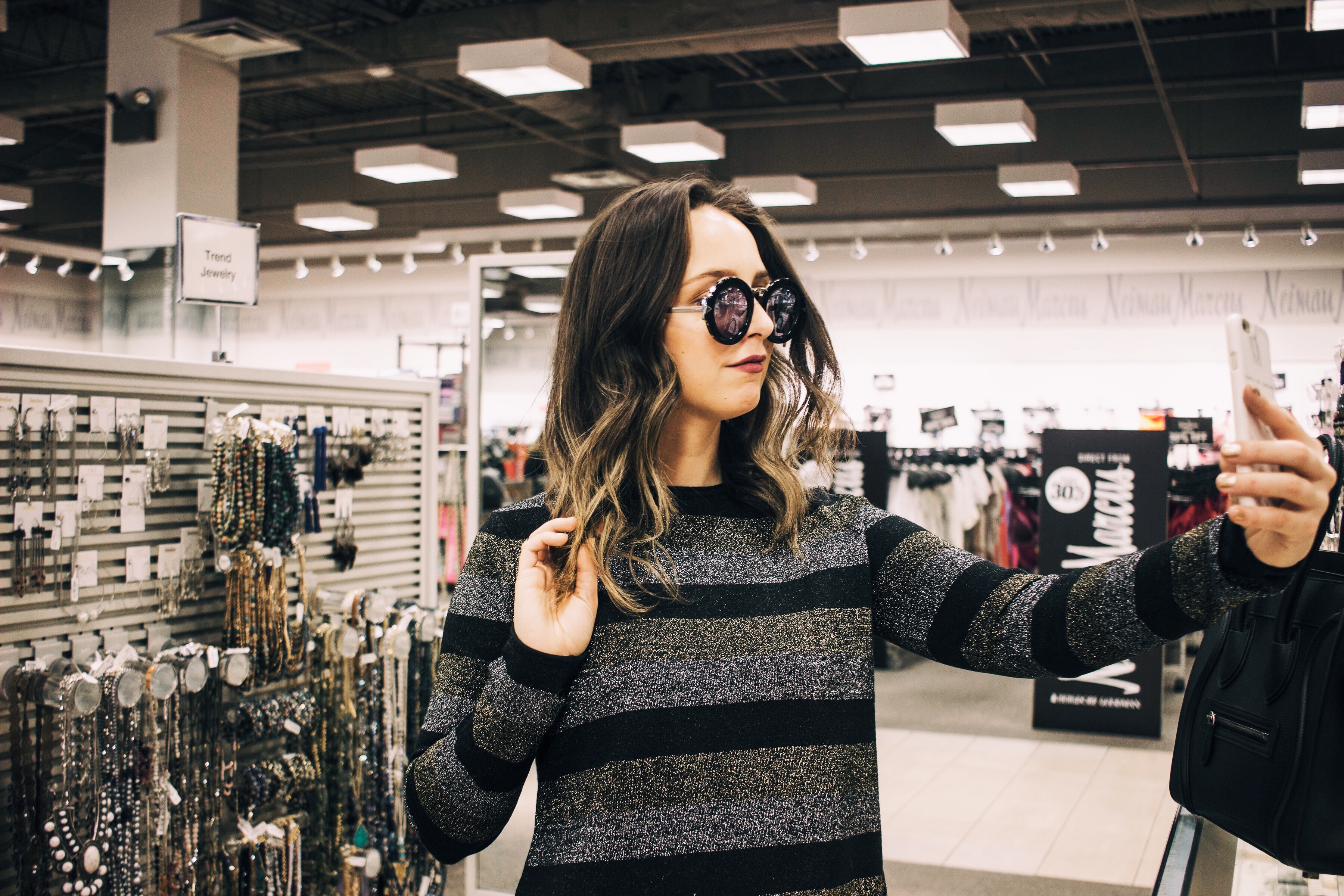 Mills at Jersey Gardens-outfit-style-blogger-fall-holiday-gifts-christmas-designer-sale-sunglasses