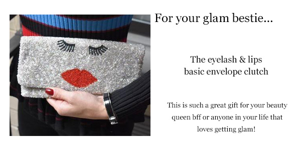 island to east side GLAM-custom-custom clutch-beaded clutch-lips-eyes-style-fashion-small business-new york