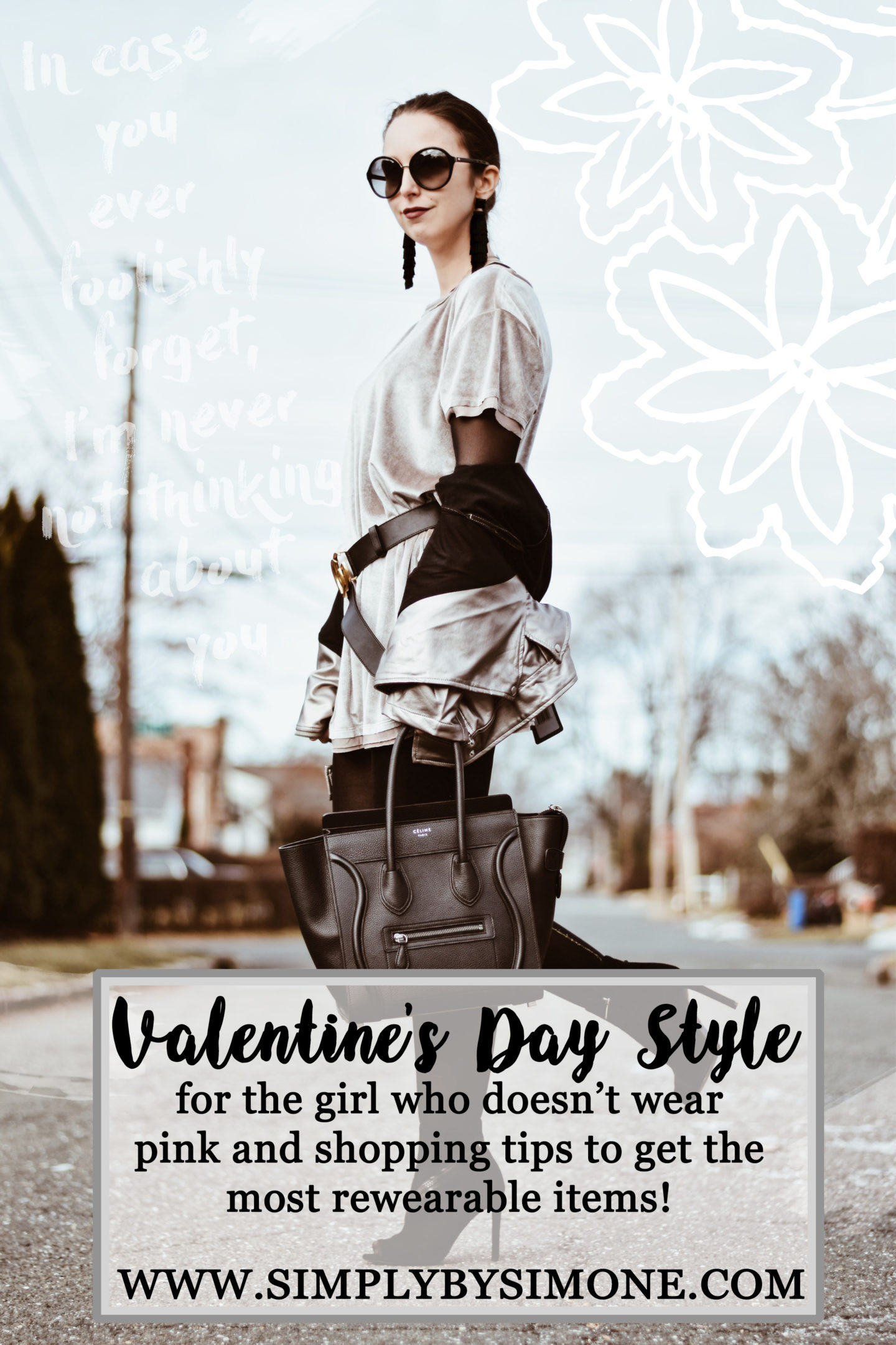 Valentines Day Style That's Not Pink + Shopping Tips!