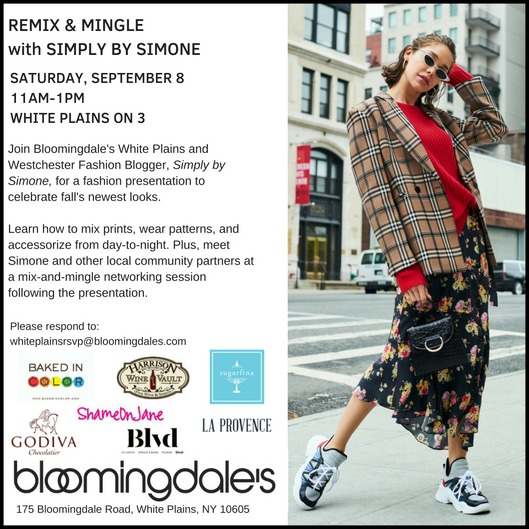 2c4c55b352d Simply by Simone x Bloomingdales White Plains-Mix and Mingle-Westchester  County-Events