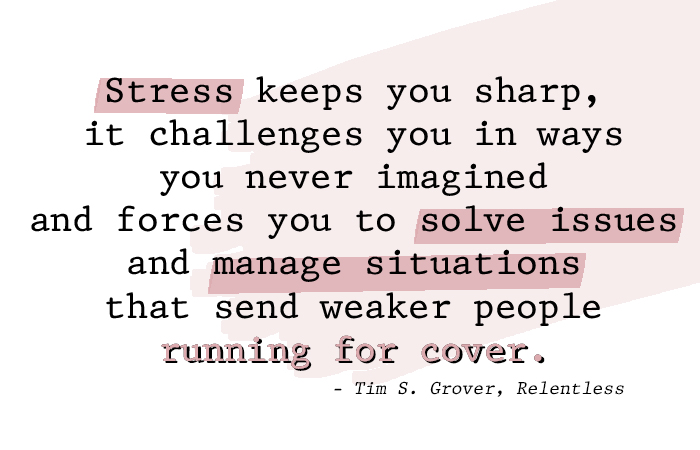 Motivation Monday Stress Quote January 2019 Tim Grover Relentless
