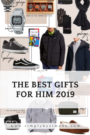 2019 Holiday Gift Guides Best Gifts For Him Simply By Simone